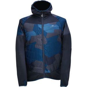2117 BLIXBO tmavě modrá M - Pánská hybridní bunda