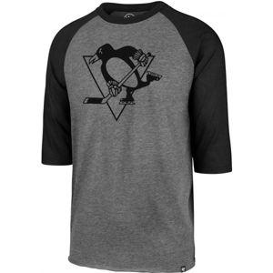 47 NHL PITTSBURGH PENGUINSIMPRINT 47 CLUB RAGLAN TEE černá XL - Pánské triko