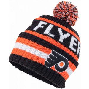 47 NHL PHILADELPHIA FLYERS BERING '47 CUFF KNIT BLK  UNI - Zimní čepice
