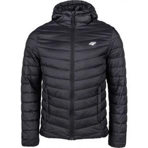 4F MEN´S JACKET černá S - Pánská zimní bunda