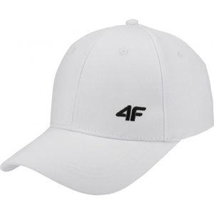 4F WOMENS CAPS bílá S/M - Dámská kšiltovka
