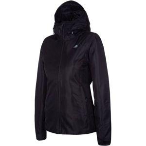 4F WOMEN'S SKI JACKET černá L - Dámská lyžařská bunda