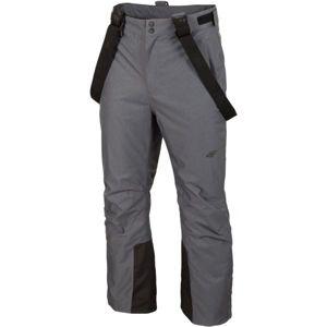 4F MEN´S SKI TROUSERS šedá S - Pánské lyžařské kalhoty