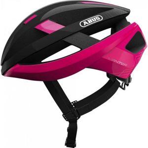 Abus VIANTOR růžová (54 - 58) - Cyklistická helma