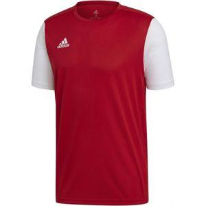 adidas ESTRO 19 JSY JR červená 164 - Dětský fotbalový dres