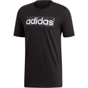 adidas E LIN AOP BOX T - Pánské triko