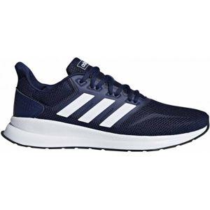 adidas RUNFALCON modrá 6.5 - Pánská běžecká obuv