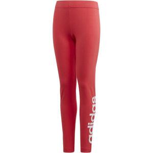 adidas YG E LIN TGHT růžová 140 - Dívčí legíny