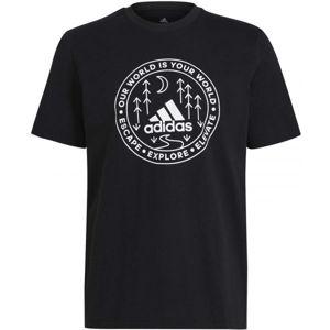 adidas CRCL XPLR TEE  S - Pánské tričko