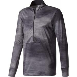 adidas WORKOUT LS GFX tmavě šedá L - Pánské tričko s dlouhým rukávem