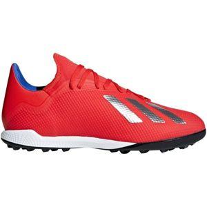 adidas X 18.3 TF červená 10 - Pánské kopačky