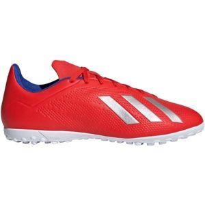 adidas X 18.4 TF červená 6.5 - Pánské kopačky