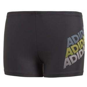 adidas YB LIN BX černá 128 - Chlapecké plavky
