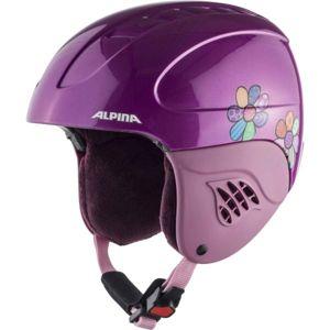 Alpina Sports CARAT růžová (51 - 55) - Dětská lyžařská helma