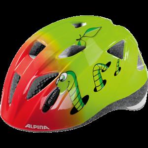 Alpina Sports XIMO červená (45 - 49) - Dětská cyklistická helma