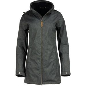 ALPINE PRO MAMIA 2 tmavě šedá L - Dámský softshellový kabát