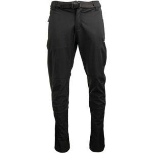 ALPINE PRO LORAL černá 56 - Pánské softshellové kalhoty