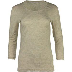 ALPINE PRO SAMIRA béžová S - Dámské triko