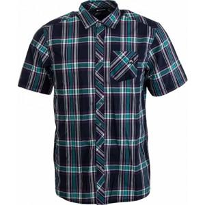 ALPINE PRO MACICO tmavě modrá S - Pánská košile