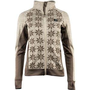 ALPINE PRO OSITA 3 béžová XS - Dámský svetr