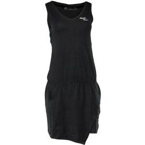 ALPINE PRO ROTEMA černá M - Dámské šaty