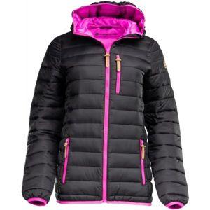 ALPINE PRO WUXI 2 černá XS - Dámská zimní bunda