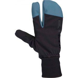 Arcore TAMPA černá S - Zimní tříprsté rukavice