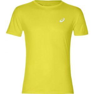 Asics SILVER SS TOP žlutá XL - Pánské běžecké triko