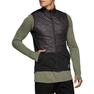 Asics WINTER VEST černá XL - Pánská zimní běžecká vesta