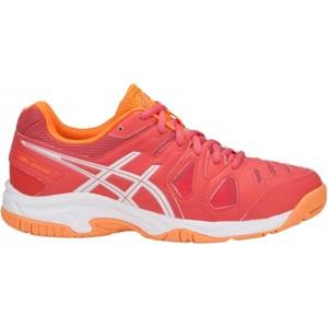 Asics GEL-GAME 5 GS červená 4 - Dětská tenisová obuv