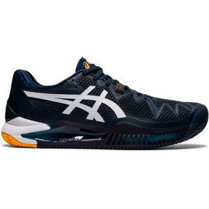 Asics GEL-RESOLUTION 8 CLAY  10 - Pánská tenisová obuv