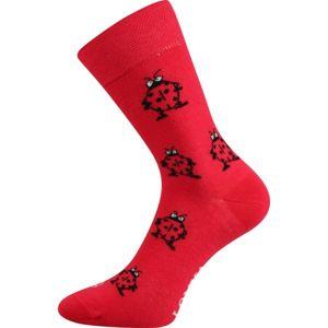 Boma PATTE 026 červená 35/38 - Dámské ponožky