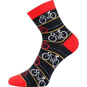 Boma PATTE 038 černá 43 - 46 - Vysoké ponožky