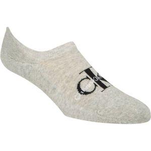 Calvin Klein RETRO LOGO LINER béžová  - Pánské ponožky