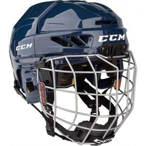 CCM FITLITE 3DS COMBO YT modrá NS - Dětská hokejová helma