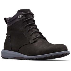 Columbia GRIXSEN BOOT WP černá 12 - Pánská vycházková obuv