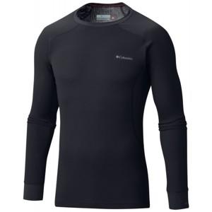 Columbia HEAVYWEIGHT LS TOP M černá XXL - Pánské funkční triko