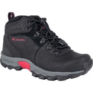 Columbia CHILDREN NEWTON RIDGE černá 12 - Dětská zimní obuv