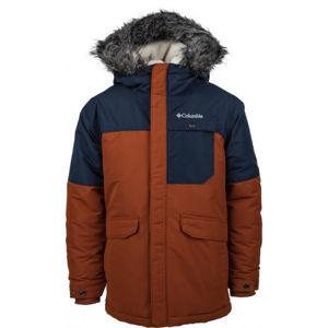 Columbia NORDIC STRIDER JACKET  S - Dětská zimní bunda