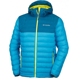 Columbia POWDER LITE HOODED JACKET žlutá M - Pánská bunda