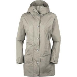 Columbia RAIN CREEK TRENCH béžová XL - Dámský outdoorový kabát