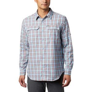 Columbia SILVER RIDGE™ 2.0 PLAID L/S SHIRT modrá S - Pánská košile s dlouhým rukávem