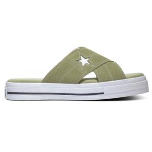 Converse ONE STAR SANDAL zelená 40 - Dámské pantofle