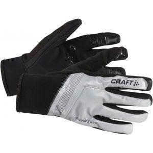 Craft SHELTER bílá L - Cyklistické rukavice