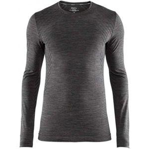 Craft FUSEKNIT COMFORT LS černá S - Pánské funkční triko