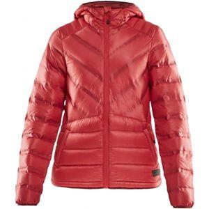 Craft LIGHTWEIGHT DOWN červená L - Dámská zimní bunda