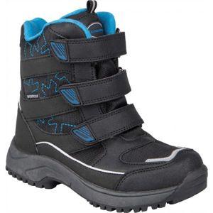 Crossroad CALLE IV černá 33 - Dětská zimní obuv