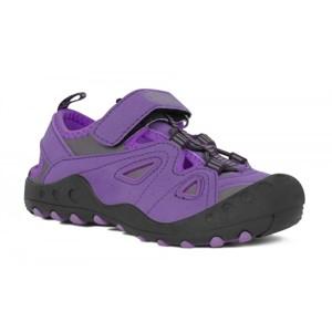 Crossroad MYSTIC fialová 30 - Dětské sandály