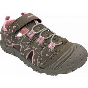 Crossroad MUGEN šedá 31 - Dětské sandály
