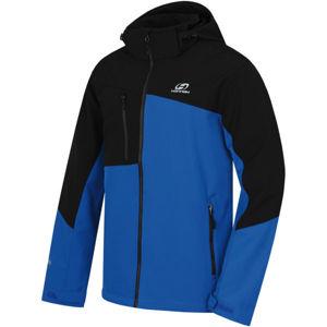Hannah ARCHIE modrá XXL - Pánská softshellová bunda